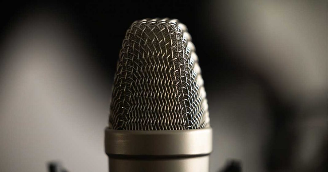 Microfono-Podcast