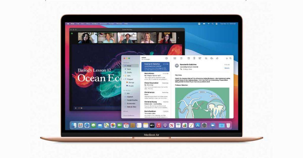 Il nuovo Mac Book Air M1