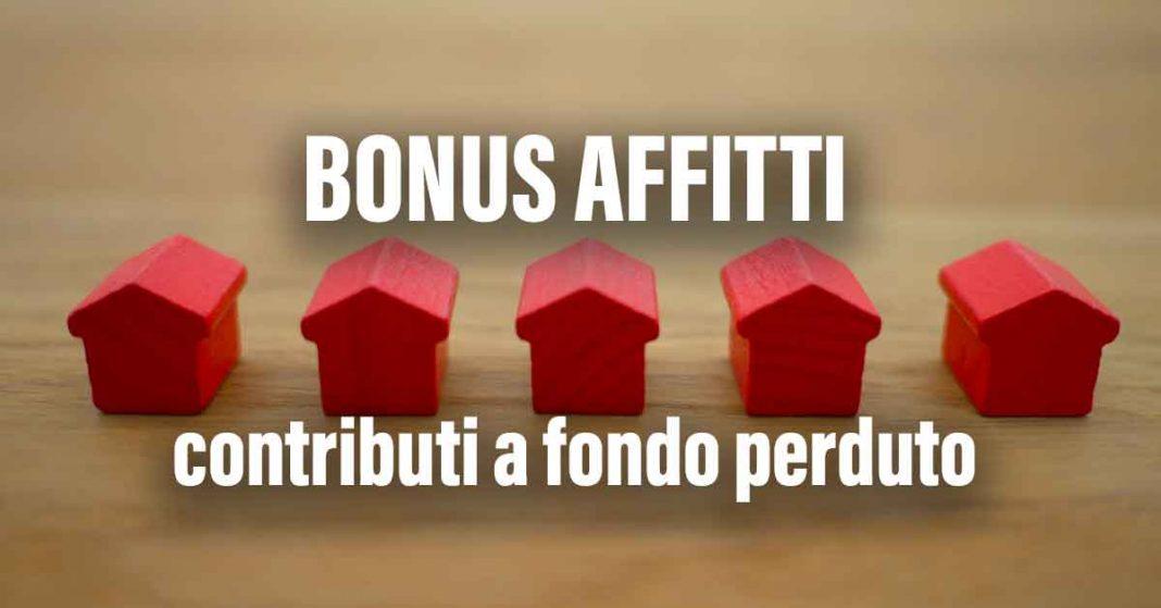 Bonus affitti