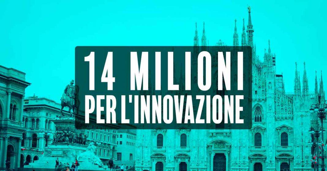Oltre 14 milioni per l'innovazione